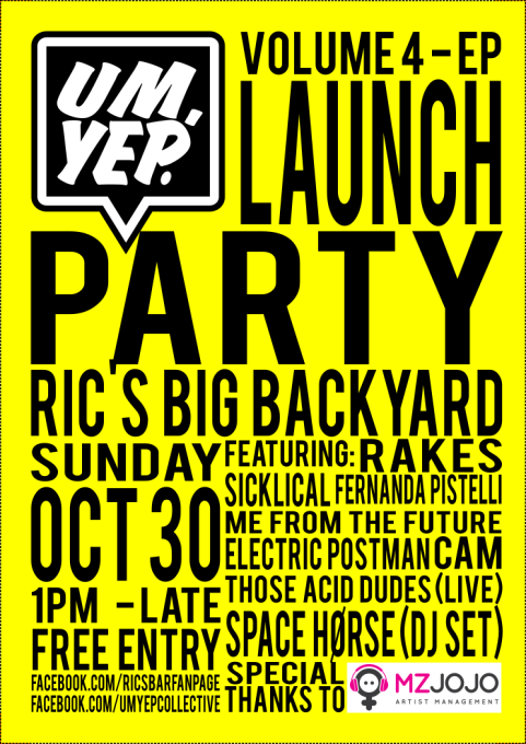 UYV4 Launch Flyer